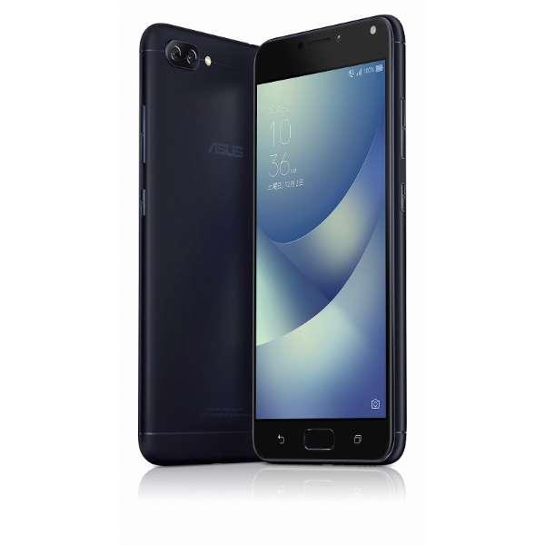 Zenfone 4 Max Proネイビーブラック「ZC554KL-BK32S4BKS」Snapdragon 430  5.5型メモリ/ストレージ: 4GB/32GB nanoSIM×2 DSDS対応 ドコモ/au/YmobileSIM対応 SIMフリースマートフォン