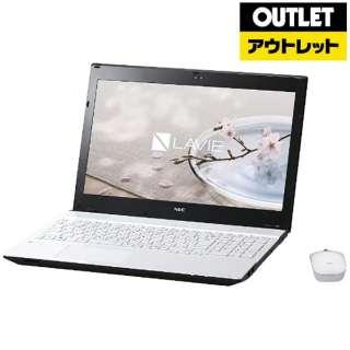【アウトレット品】 15.6型ノートPC[Win10 Home・Core i3・HDD 1TB・メモリ 4GB・Office Home & Business] LAVIE Note Standard PCNS350GAWクリスタルホワイト 【生産完了品】