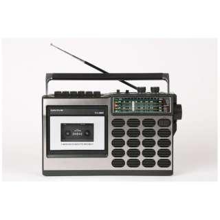 ラジカセ ブラック TLS-8800 [ワイドFM対応]