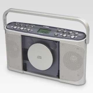 CDR-440SC CDラジオ Manavy(マナヴィ) シルバー [ワイドFM対応]