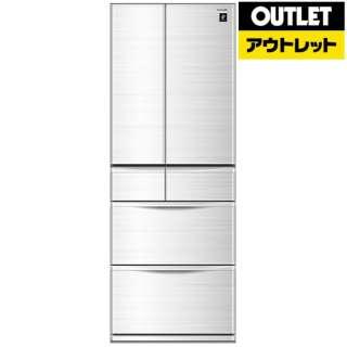 【アウトレット品】 SJ-PF46C-H 冷蔵庫 プラズマクラスター冷蔵庫 グレー系 [6ドア /観音開きタイプ /455L] 【生産完了品】