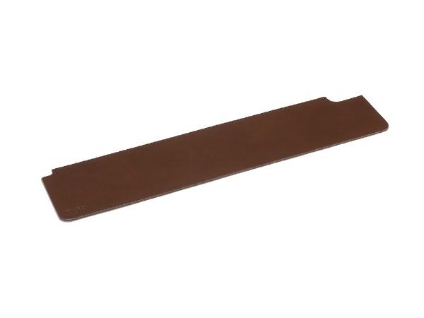 ダイヤテック FILCO レザーパームレストシートMサイズ ウッドパームレストMサイズ専用 厚口スムース本牛革使用 日本製 ブラウン FLPS M-BR