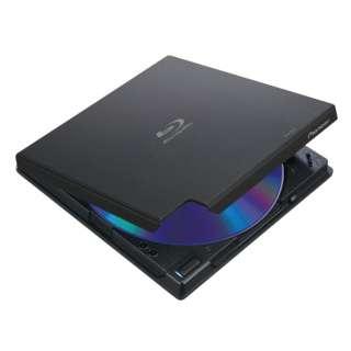 ポータブルブルーレイドライブ[USB]ブラック BDR-XD07LE [USB-A]