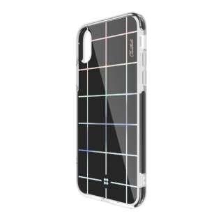 iPhone X用 CaseStudi PRISMART エスキューブラック CS_I8NCSDLPR_SB