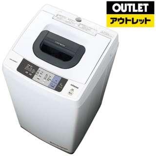 【アウトレット品】 NW-50A-W 全自動洗濯機 ピュアホワイト [洗濯5.0kg /乾燥機能無 /上開き] 【生産完了品】