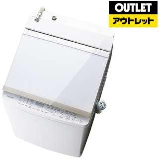 【アウトレット品】 AW-10SV5-W 縦型洗濯乾燥機 グランホワイト [洗濯10.0kg /乾燥5.0kg /ヒーター乾燥(排気タイプ) /上開き] 【生産完了品】