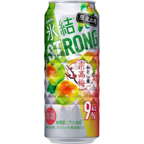 氷結ストロング 和歌山県産南高梅 (500ml/24本)【缶チューハイ】