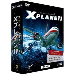 〔Win版〕 フライトシミュレータ Xプレイン11 日本語版 [Windows用]