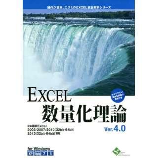 〔Win版〕 EXCEL数量化理論 Ver4.0