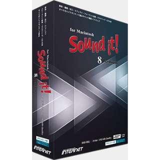 〔Mac/メディアレス〕 Sound it! 8 Premium [Mac用]