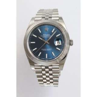 cheaper d5a5e b0b61 ロレックス デイトジャスト ブルー」の検索結果 通販 ...