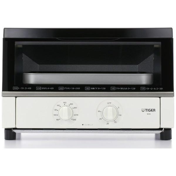 タイガー オーブントースター (1300W) 【ビックカメラグループオリジナル】 KAS-130B-W オーブントースター
