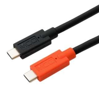 USB Type-C - Type-C ケーブル USB PD 対応 / e Marker 内蔵 3.0m UPD-230/BK ブラック
