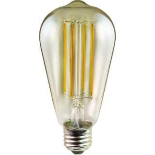 LDS4L/A2 LED電球 電球形 DECO LIGHT LED Filament ANTIQUE(デコライトLED・フィラメントアンティーク) 琥珀色 [E26 /電球色 /1個 /全方向タイプ]