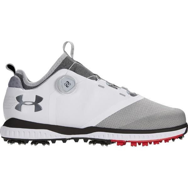 28.0cm男子的高尔夫球鞋UA Tempo Sport 2