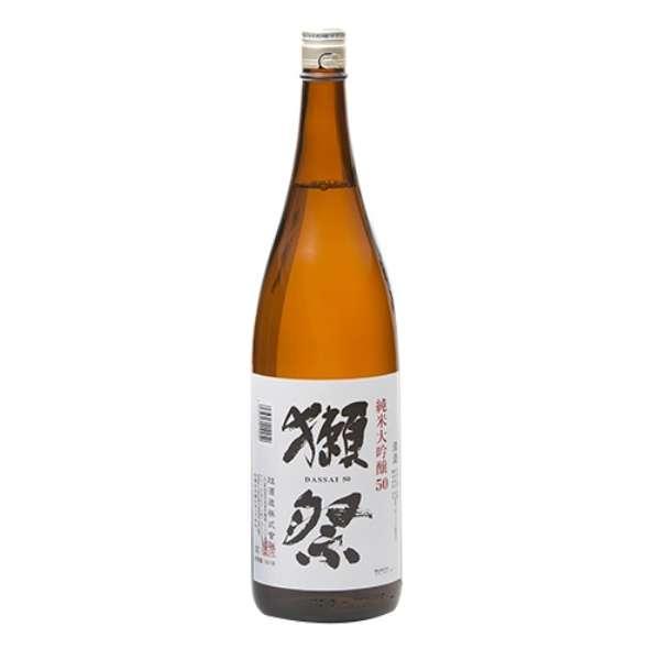 【ビック酒販正規取り扱い店舗限定】 獺祭(だっさい) 純米大吟醸 50 1800ml【日本酒・清酒】