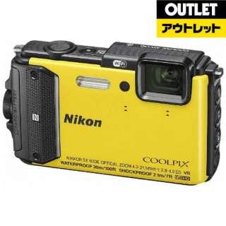 【アウトレット品】 コンパクトデジタルカメラ COOLPIX(クールピクス) [防水+防塵+耐衝撃] AW130  イエロー 【生産完了品】