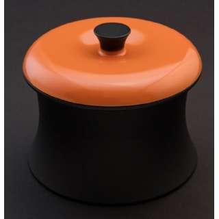 ≪IH対応≫ カーボン製小型鍋 「COCOTTE RINGO(ココット リンゴ)」(0.55L) RG001SO スパニッシュオレンジ