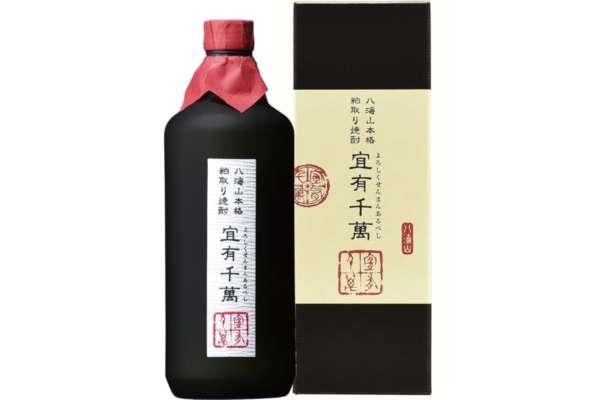 新潟県「八海山 粕取り焼酎 宜有千萬」(粕取り焼酎)