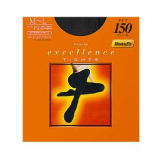 excellence(エクセレンス)タイツ 150デニール(MLサイズ)ブラック[タイツ]