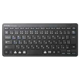 キーボード 超薄型ミニ ブラック TK-FBP100BK [Bluetooth /ワイヤレス]