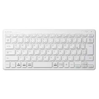 キーボード ミニ ホワイト TK-FDP098TWH [USB /ワイヤレス]