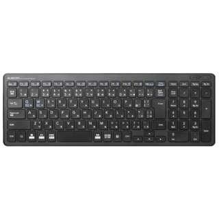 TK-FDP099TBK キーボード コンパクト ブラック [USB /ワイヤレス]