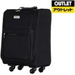 【アウトレット品】 ソフトキャリーケース 30L ブラック ESC3064-45 BK 【生産完了品】