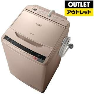 【アウトレット品】 BW-V100A-N 全自動洗濯機 ビートウォッシュ シャンパン [洗濯10.0kg /乾燥機能無 /上開き] 【生産完了品】