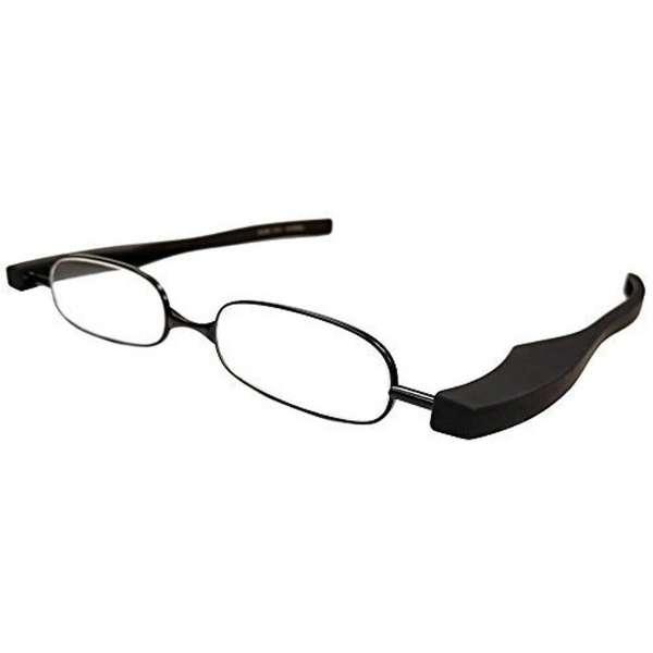 折りたたみ老眼鏡 ポッドリーダー スマート(マットブラック/+2.00)