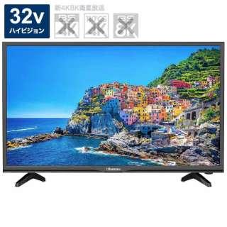 32BK1 液晶テレビ 前面:ブラック 背面:マットブラック [32V型 /ハイビジョン /YouTube対応]