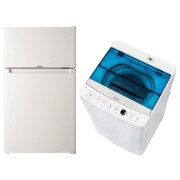 [new life support] Household appliances set A Refrigerator, washing machine two points set