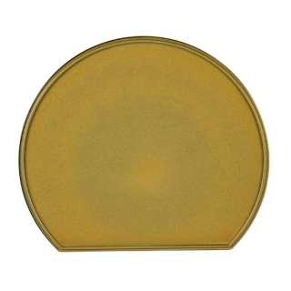 個々膳 半月両面盆 K6345 ゴールド