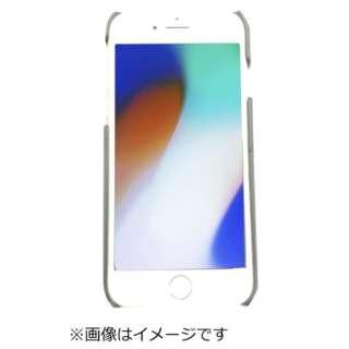 iPhoneX用背面クロコダイル調ケースブラック