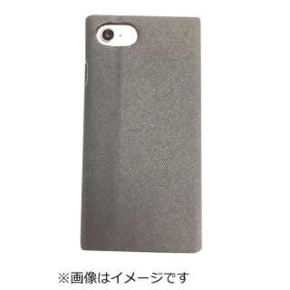 iPhone8専用 手帳型 ラウンドブックケースブラック