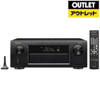 【アウトレット品】 AVアンプ [ハイレゾ対応 /Bluetooth対応 /Wi-Fi対応 /ワイドFM対応 /11.2ch /DolbyAtmos対応] AVR-X6300H ブラック 【外装不良品】