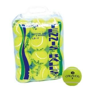 一般用硬式テニスボール 12球入 LB-12 イエロー