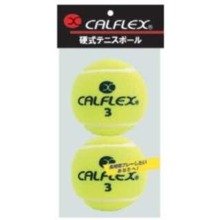 一般用硬式テニスボール 2球入 LB-450YL イエロー