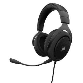 CA-9011170-AP ゲーミングヘッドセット カーボン [φ3.5mmミニプラグ /両耳 /ヘッドバンドタイプ]