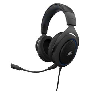 CA-9011172-AP ゲーミングヘッドセット ブルー [φ3.5mmミニプラグ /両耳 /ヘッドバンドタイプ]