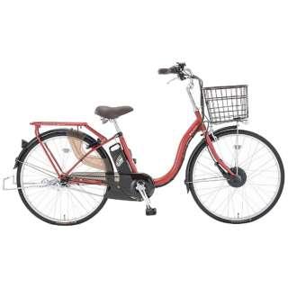 26型 電動アシスト自転車 スイミー26(FTレッド/内装3段変速) TLU6EV【2018年モデル】 【組立商品につき返品不可】
