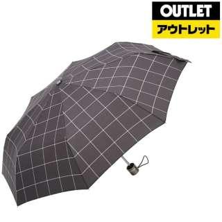 【アウトレット品】 【折りたたみ傘】トーツ3セクション手動55センチ ウィンドウ・ペン 8402 W80 【数量限定品】