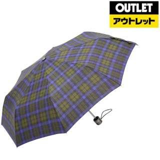 【アウトレット品】 折りたたみ傘 totes line(トーツライン) タータンチェック 8402 B66 [晴雨兼用傘 /55cm] 【数量限定品】