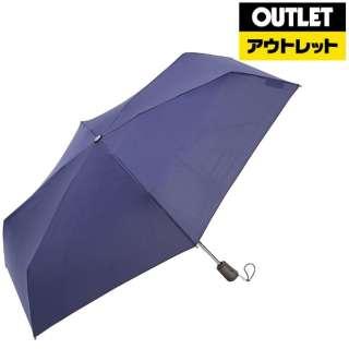 【アウトレット品】 折りたたみ傘 TITAN(タイタン) ネイビー 8661NAV [晴雨兼用傘 /55cm] 【数量限定品】