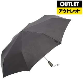 【アウトレット品】 折りたたみ傘 TITAN(タイタン) ブラック 7571 BLK [晴雨兼用傘 /70cm] 【数量限定品】