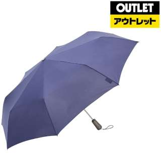 【アウトレット品】 折りたたみ傘 TITAN(タイタン) ネイビー 7571 NAV [晴雨兼用傘 /70cm] 【数量限定品】