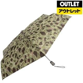 【アウトレット品】 【折りたたみ傘】タイタン自動55センチ カモフラージュ 8661 B65 【数量限定品】