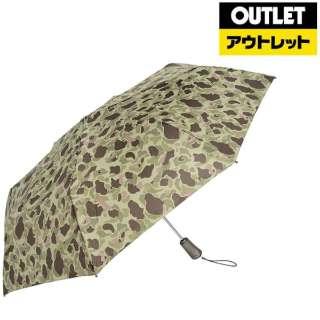 【アウトレット品】 【折りたたみ傘】タイタン自動60センチ カモフラージュ 7559 B65 【数量限定品】