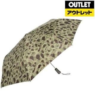 【アウトレット品】 【折りたたみ傘】タイタン自動70センチ カモフラージュ 7571 B65 【数量限定品】