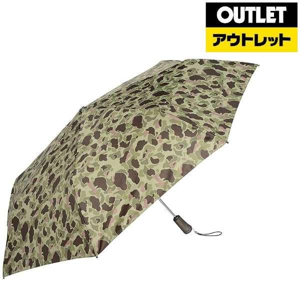 【アウトレット品】 折りたたみ傘 TITAN(タイタン) カモフラージュ 7571 B65 [晴雨兼用傘 /70cm] 【数量限定品】